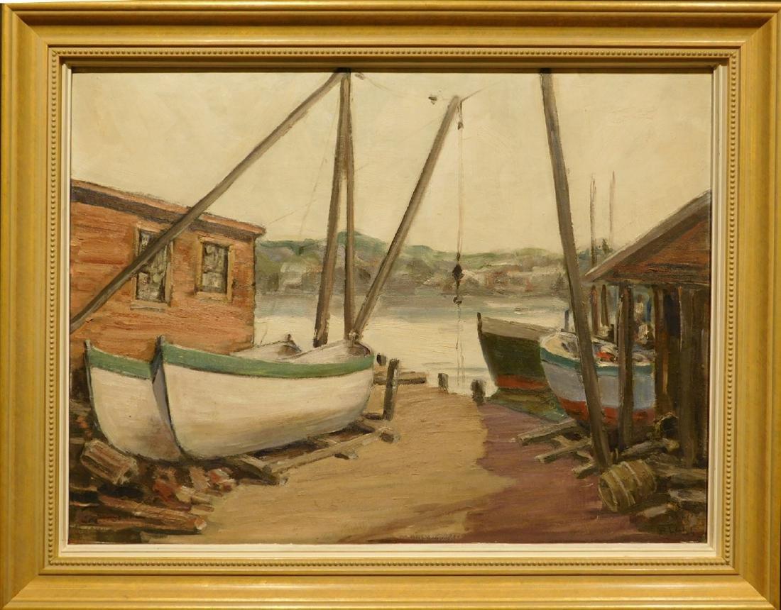 B. Walch: Boats, Gloucester