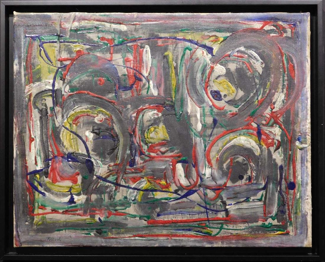 Manner of Jackson Pollock: Untitled Painting