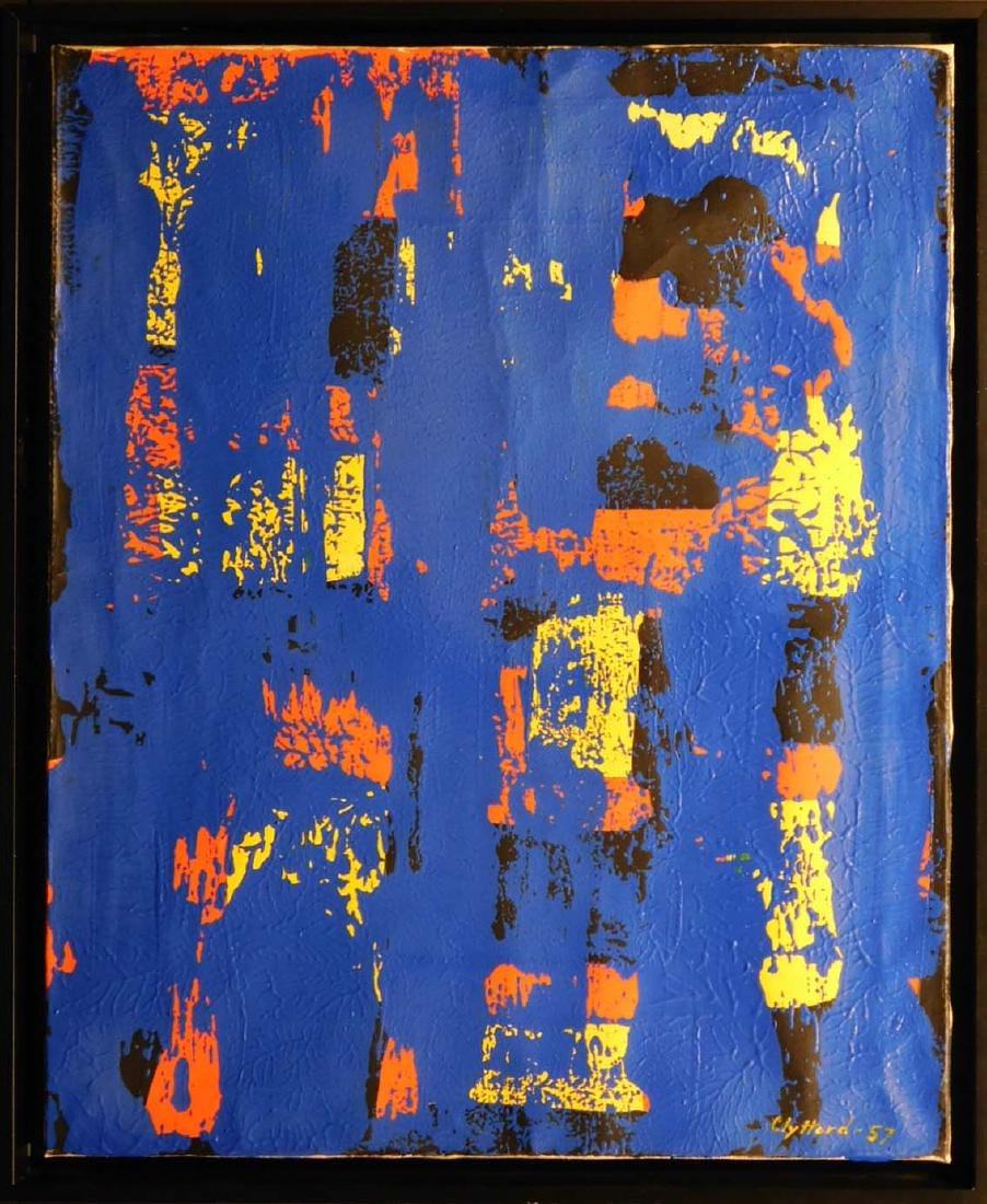 Manner of Clyfford Still: Abstract Painting