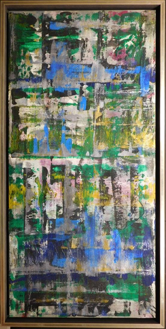 Manner of Gerhart Richter, Untitled Abstract Painting