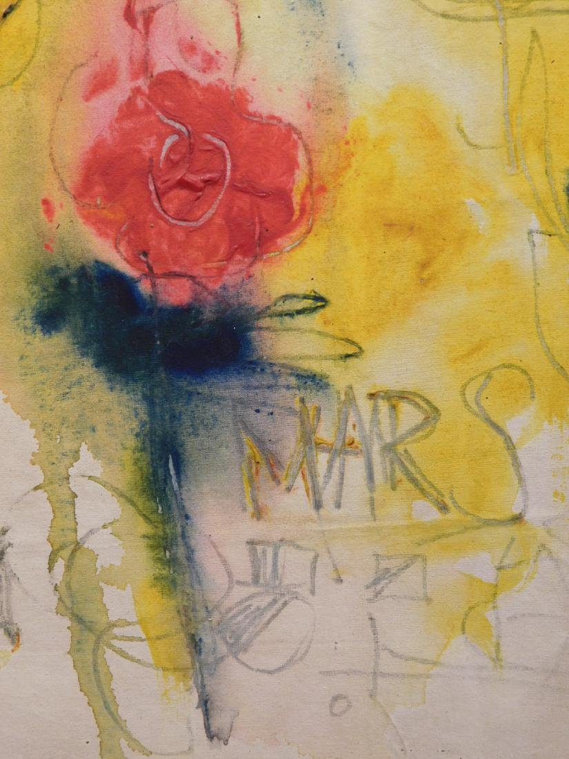 Manner of Cy Twombly: Venus, Mars - 9