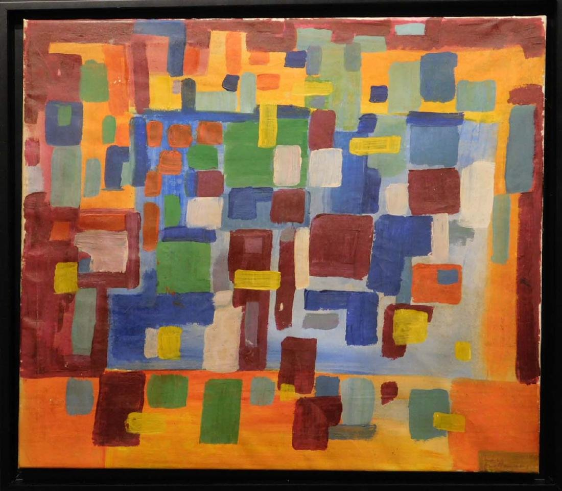 Manner of Hans Hofmann: Abstract Composition