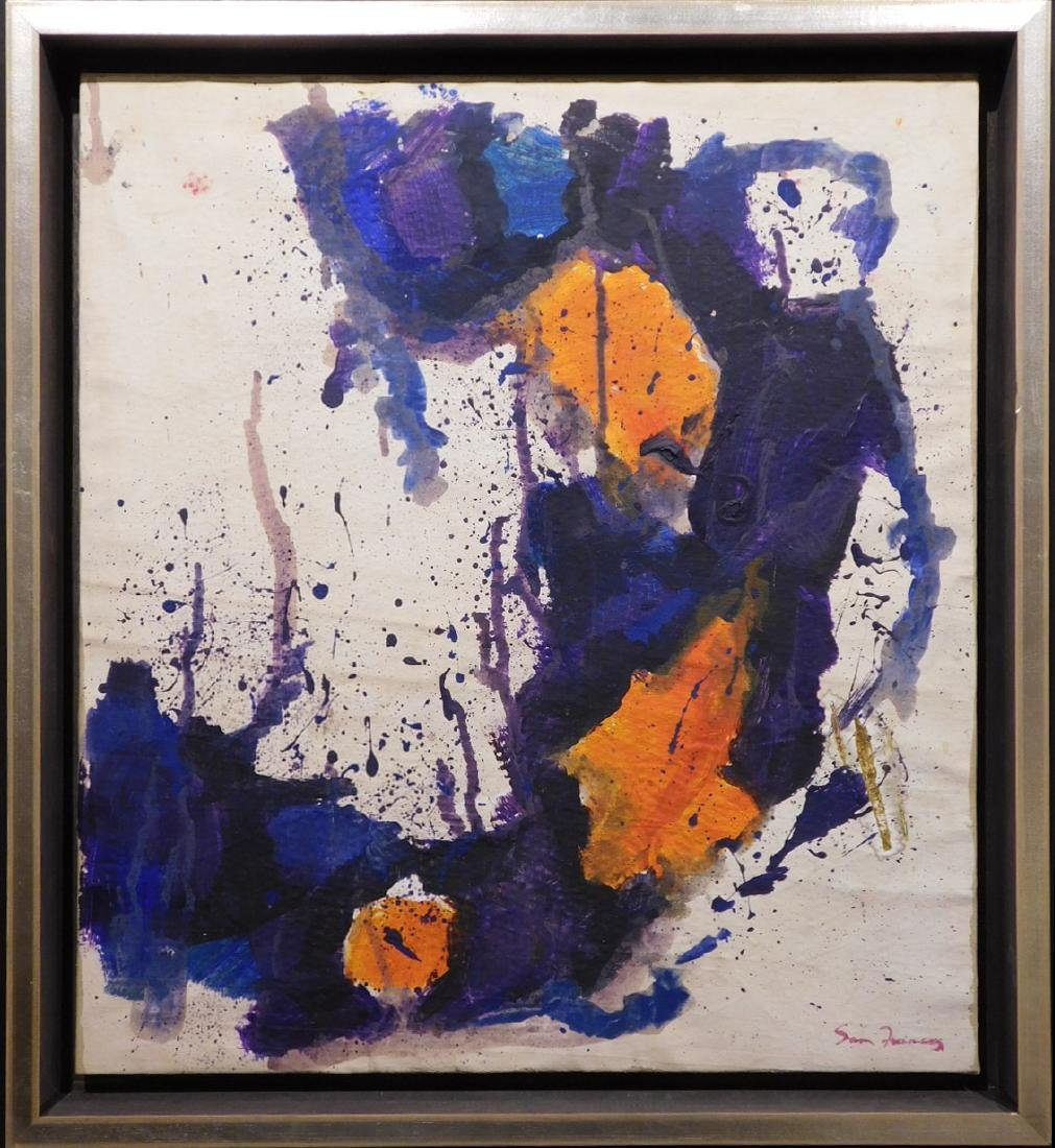 Manner of Sam Francis: Abstract Painting