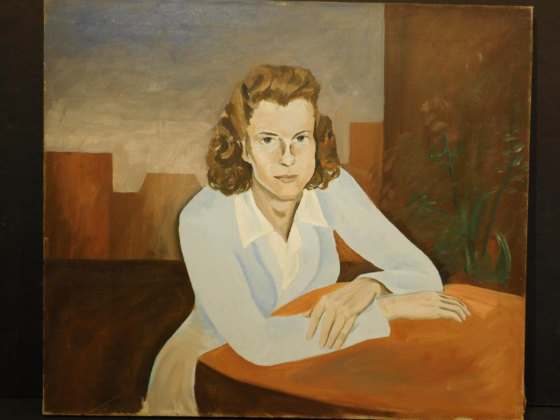 Howard John Besnia: Portrait of a Woman, c.1945