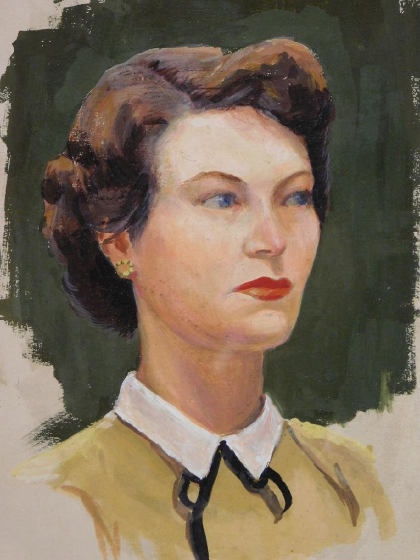 Bob Le Rose: Portrait of a Woman