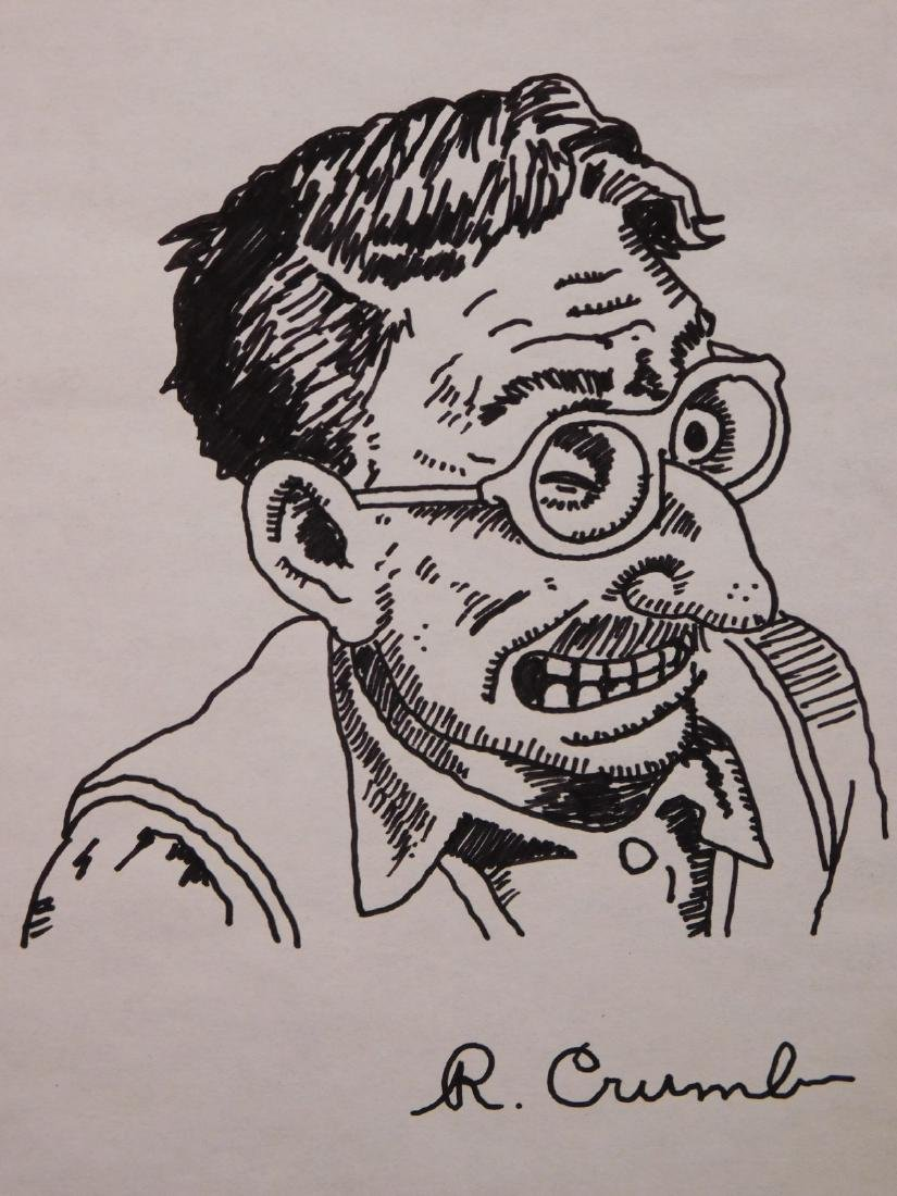 Robert Crumb: Man with Glasses
