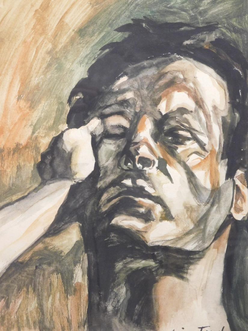 After Lucien Freud: Male Portrait