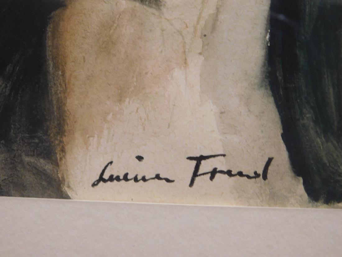 After Lucien Freud: Male Portrait - 2