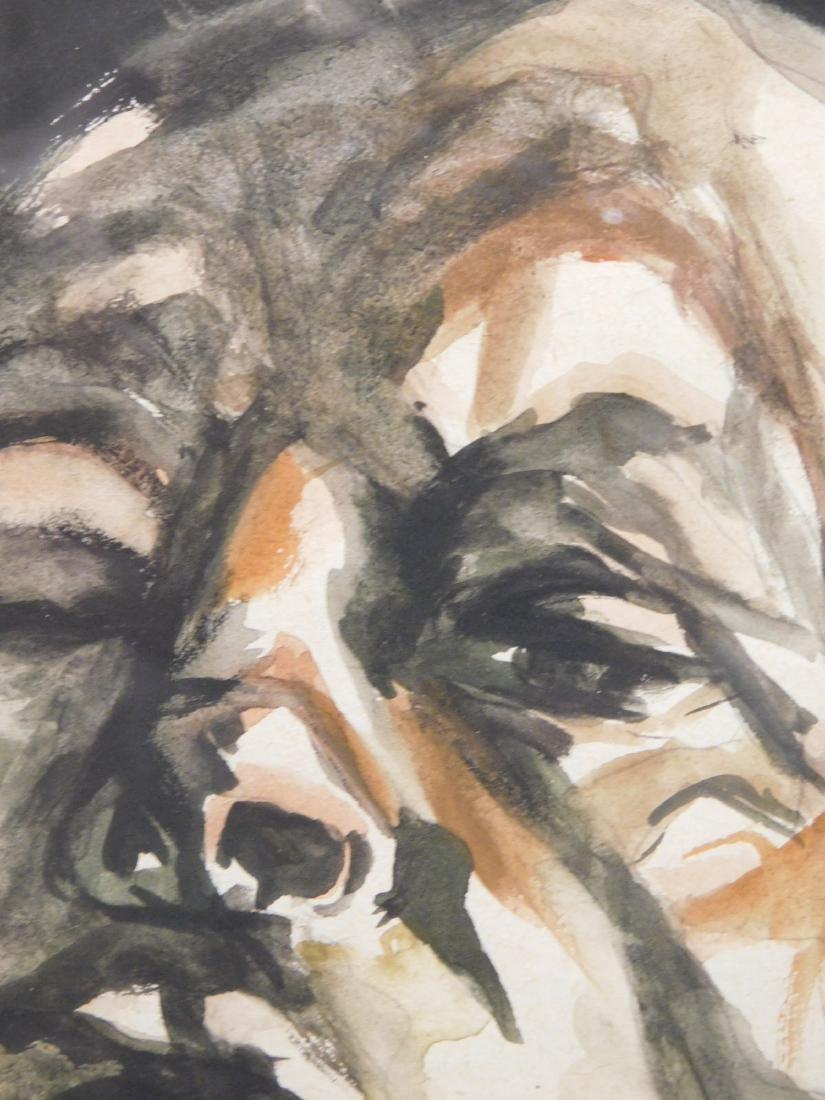 After Lucien Freud: Male Portrait - 3