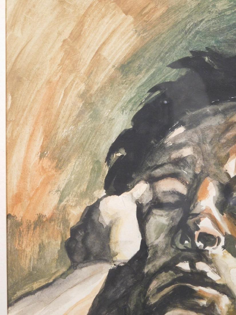 After Lucien Freud: Male Portrait - 4