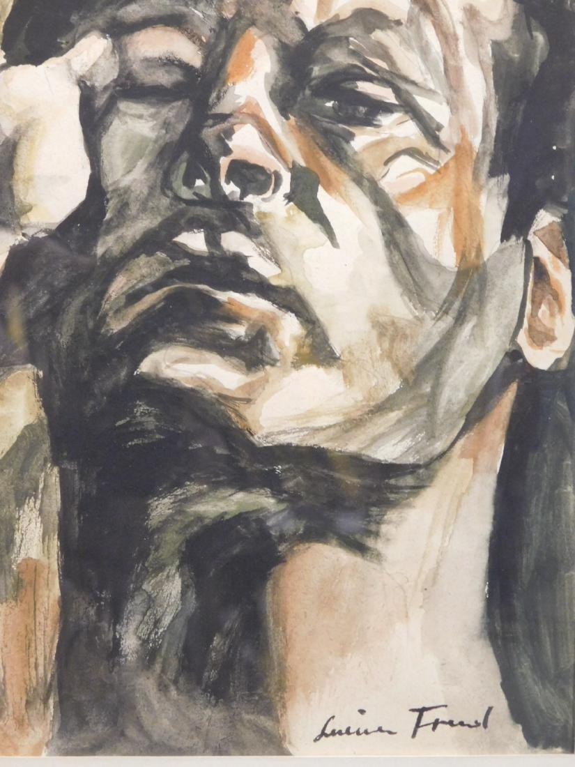 After Lucien Freud: Male Portrait - 5