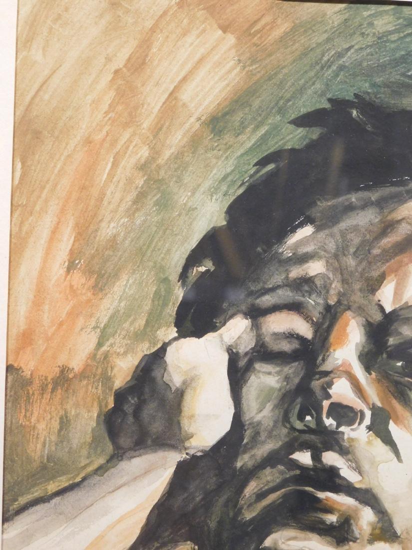 After Lucien Freud: Male Portrait - 6