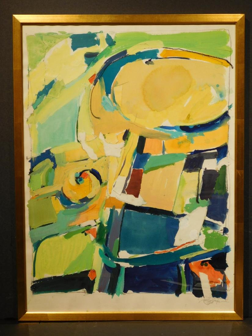 Susan Gallagher: Abstract Composition