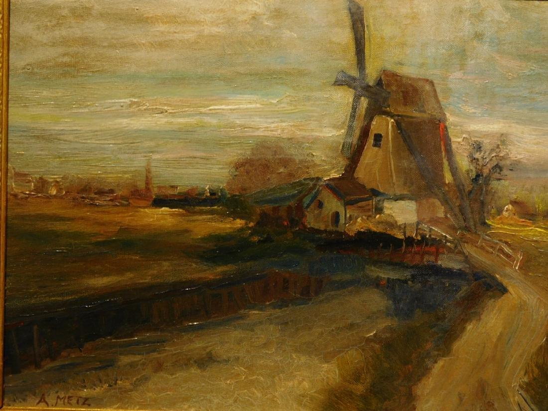 A. Metz: Farm Landscape