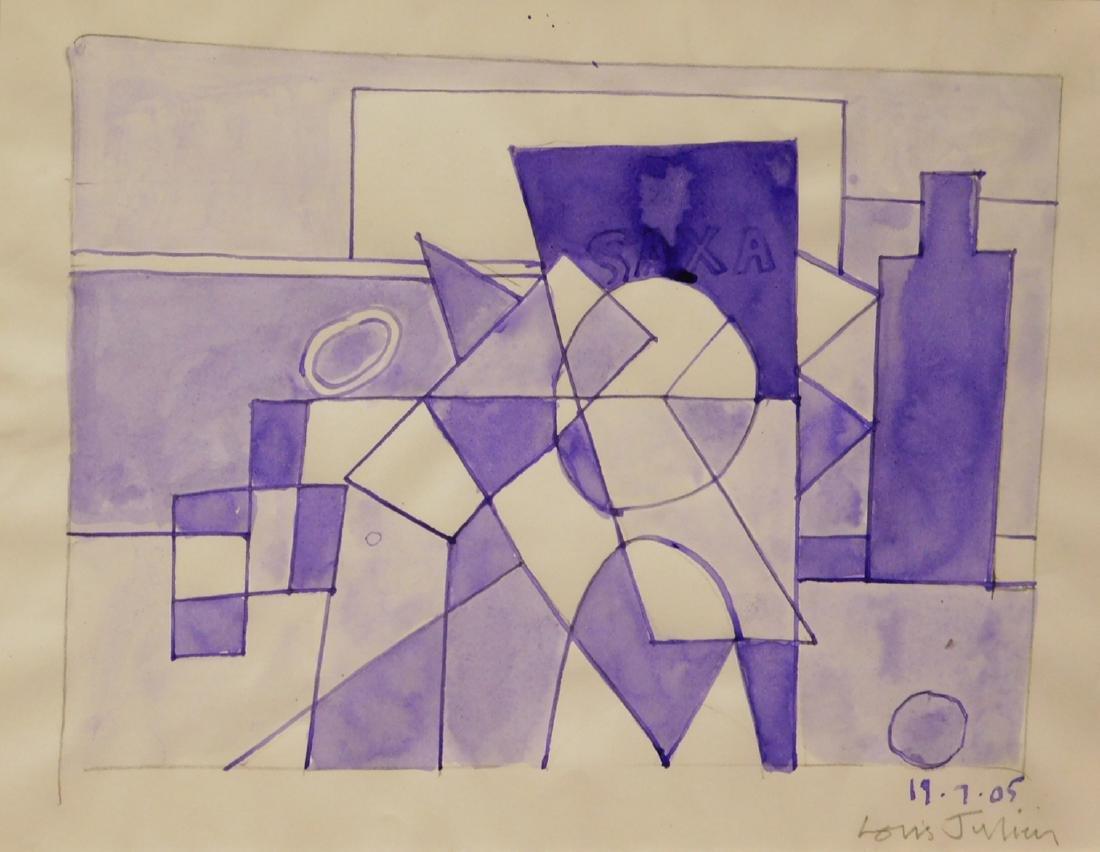Louis Julien: Cubist Painting
