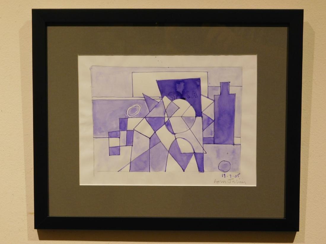 Louis Julien: Cubist Painting - 2