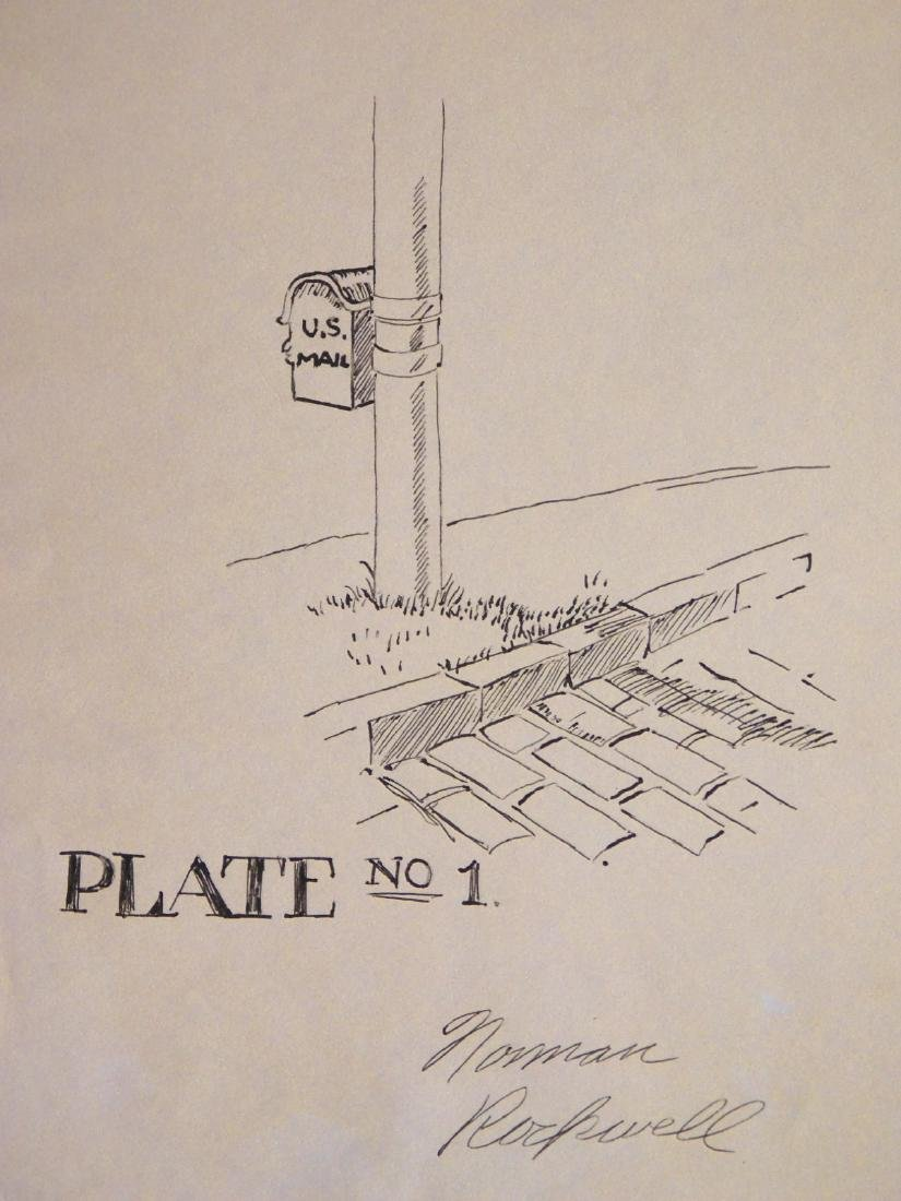 Norman Rockwell: Plate No. 1