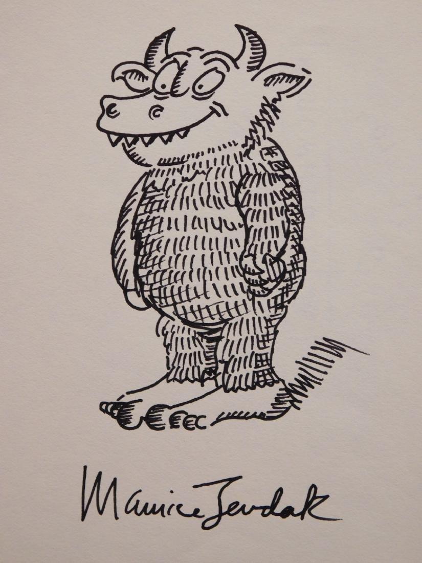 Maurice Sendak: Wild Thing Illustration