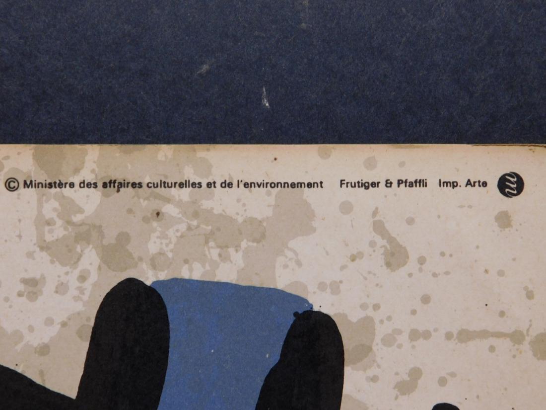 Joan Miro: Original Lithograph Exhibition Poster - 4