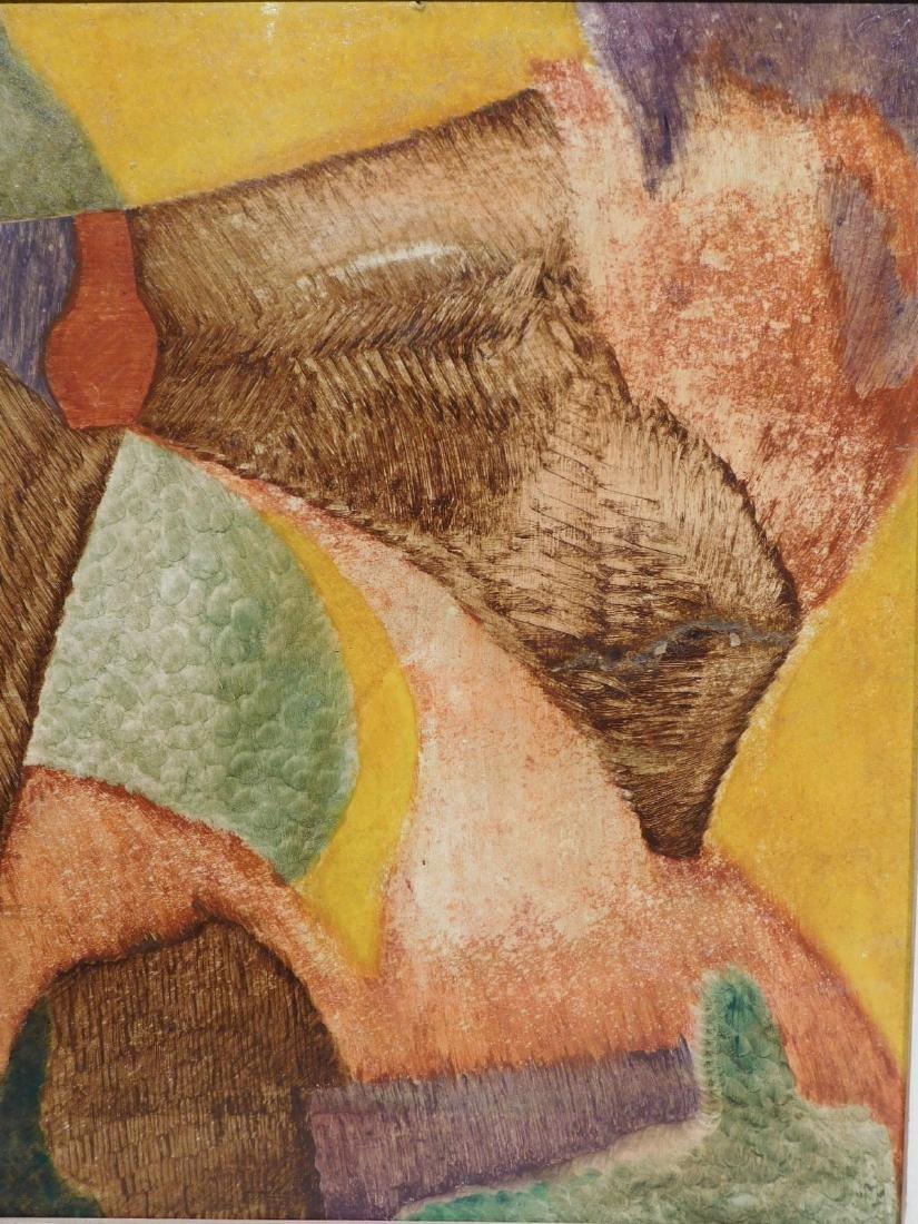 Carl Gustaf Simon Nelson (1898-1988):  Abstract - 2