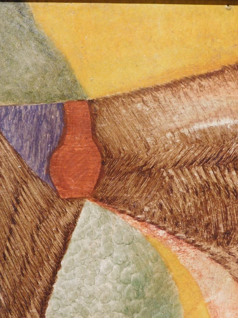 Carl Gustaf Simon Nelson (1898-1988):  Abstract - 6