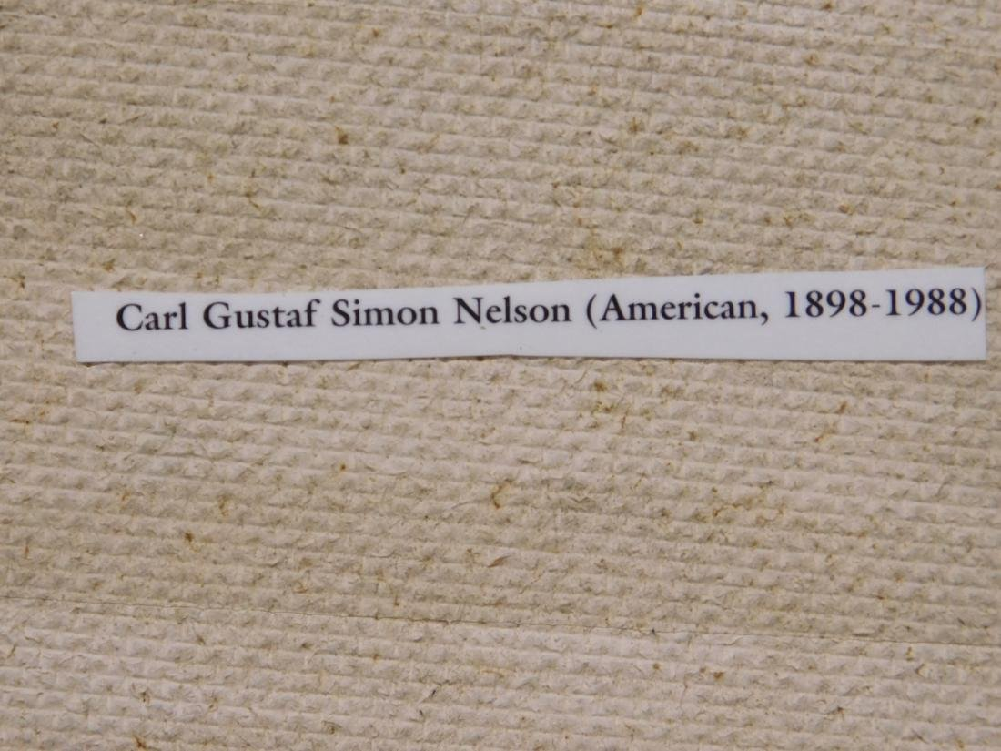 Carl Gustaf Simon Nelson (1898-1988):  Abstract - 9
