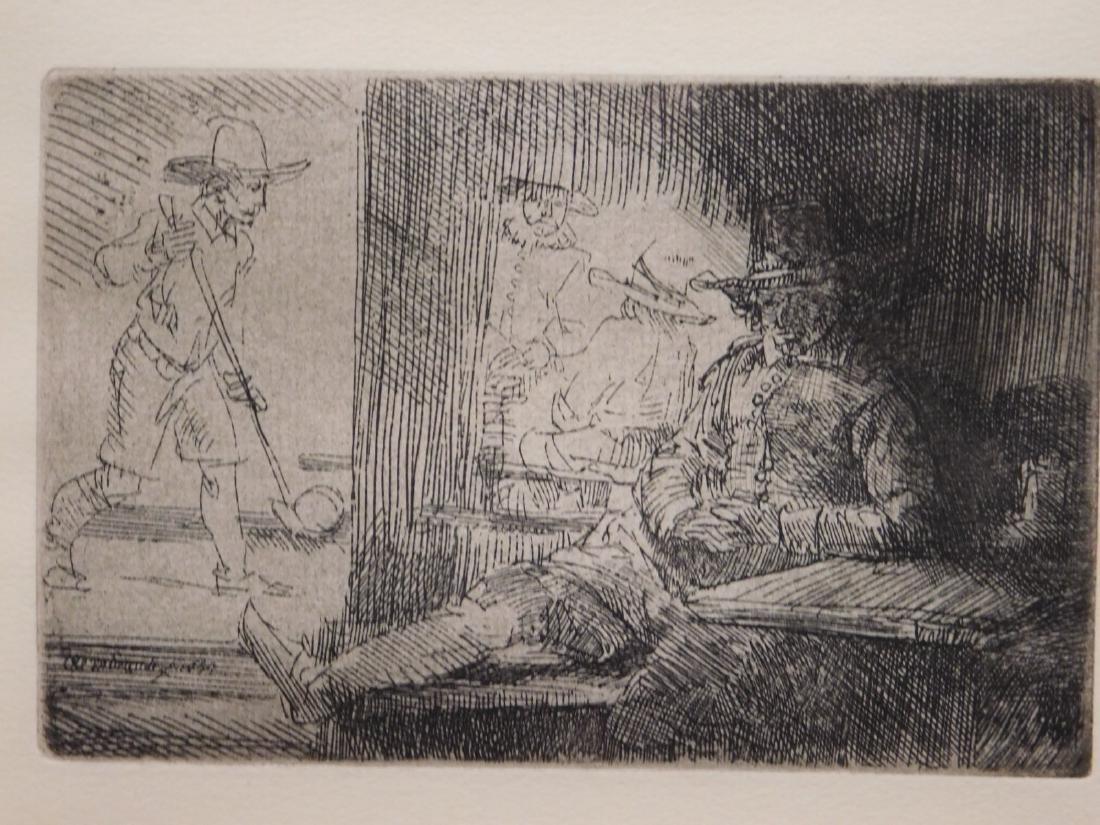 Rembrandt Van Rijn: The Golf Player