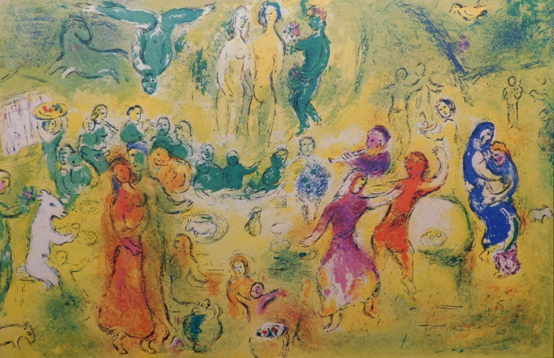 Marc Chagall: The Wedding Feast in the Nymphs Grotto