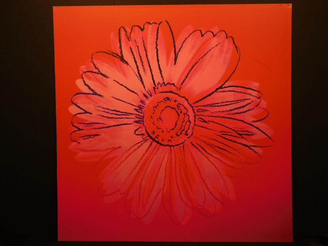 Andy Warhol: Daisy Series – Pink