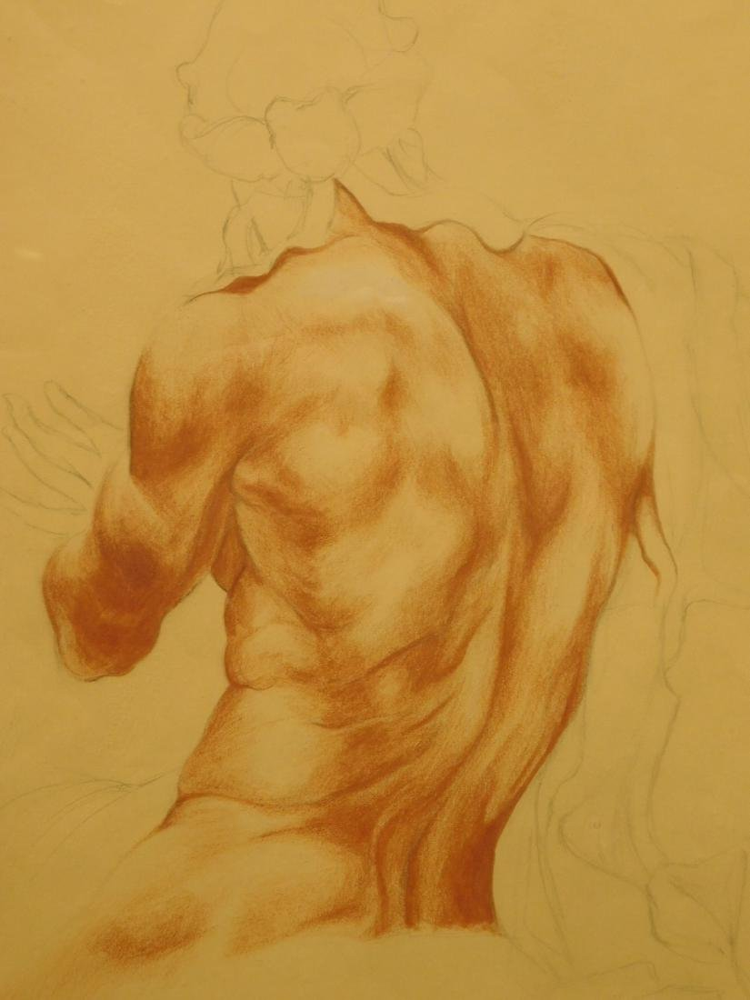 Pomenizzio: Figure Study in the Piazza Navona
