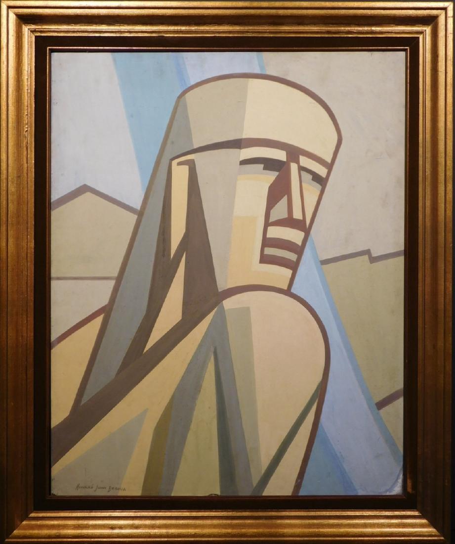Howard John Besnia: Study for Mural (Detail)