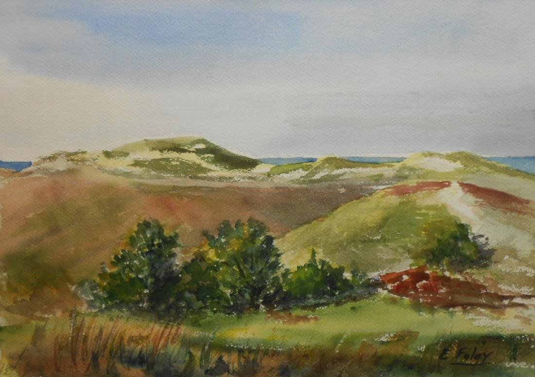 Elle Foley: Nantucket Landscape