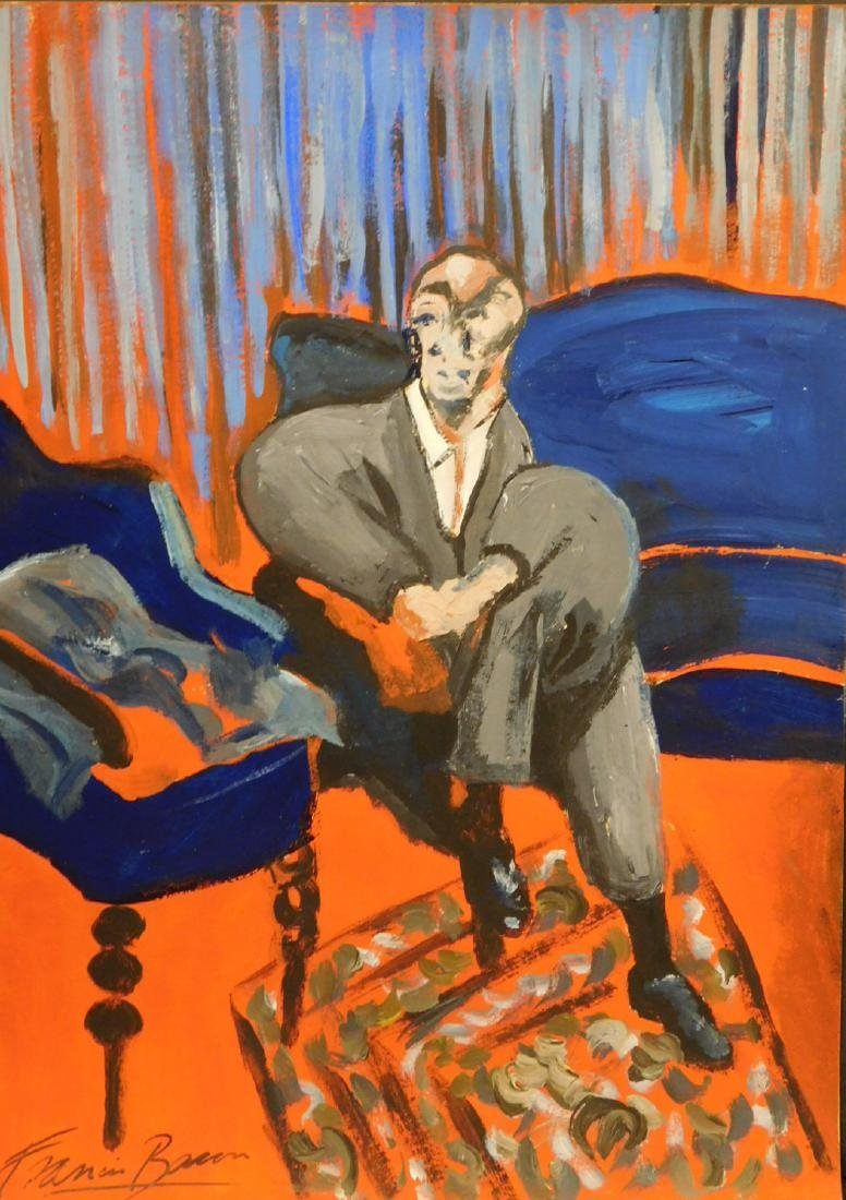 After Frances Bacon: Seated Man