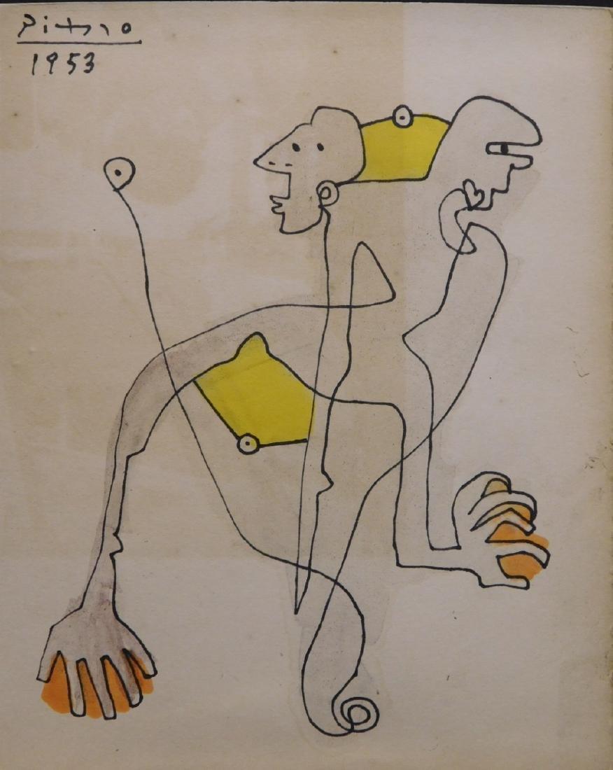 Pablo Picasso: Untitled
