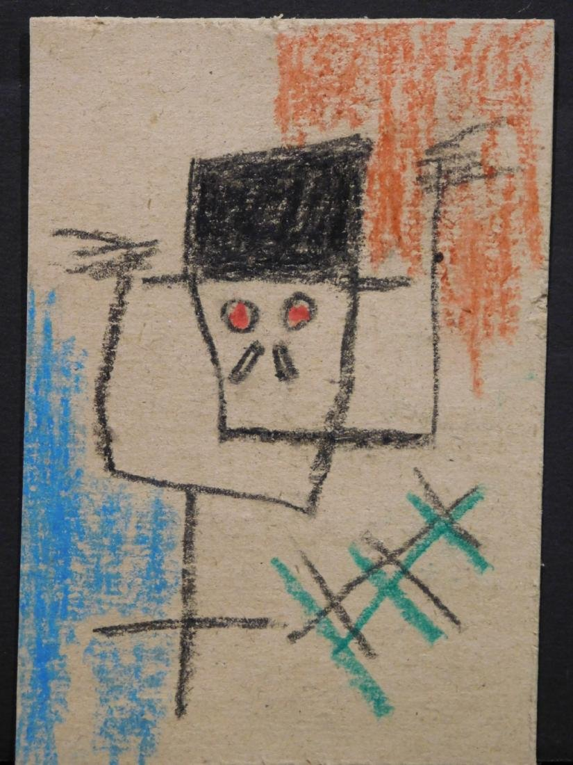 Jean Michele Basquiat: Untitled, Skeleton with Hat