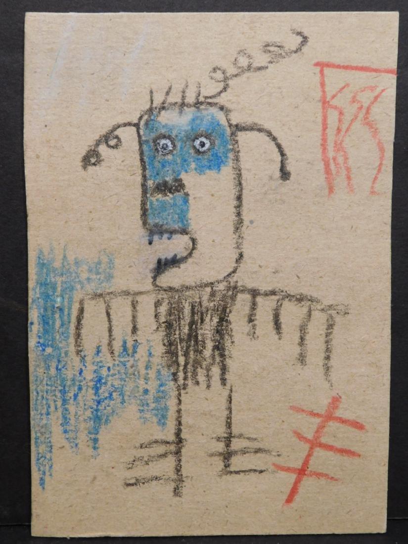 Jean Michele Basquiat: Untitled