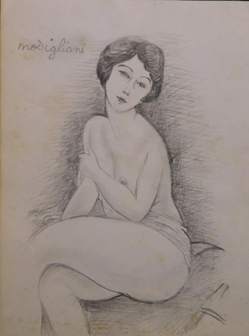 After Amedeo Modigliani: La Belle Romaine