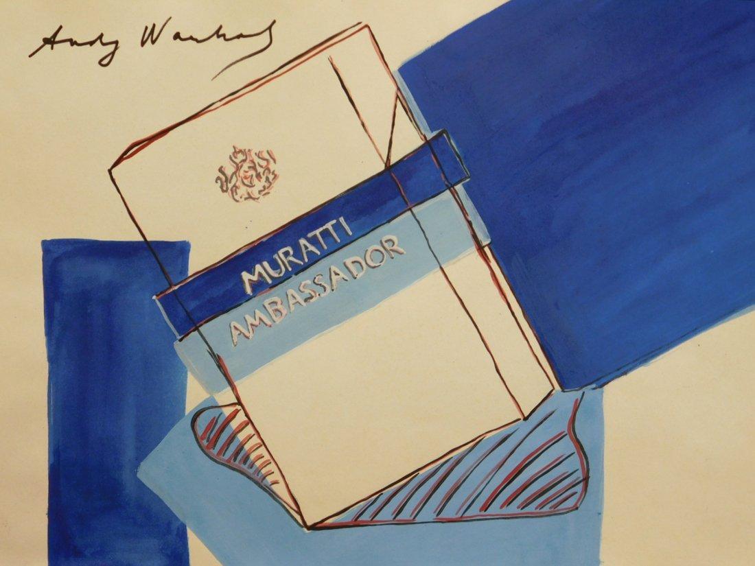 Andy Warhol: Muratti Cigarettes