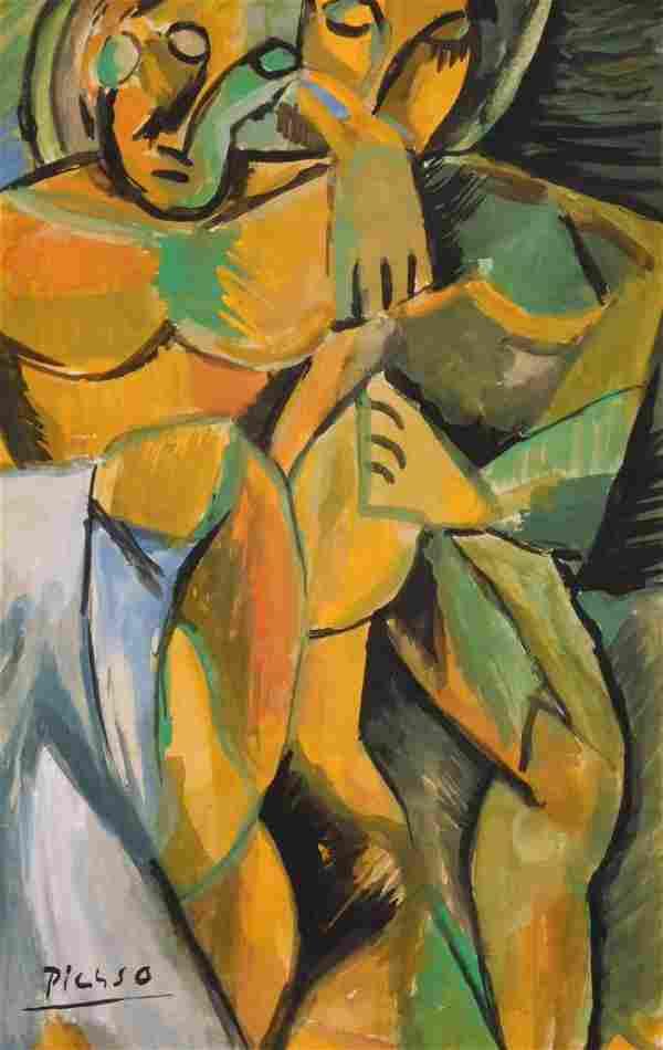 Pablo Picasso: Cubist Figures