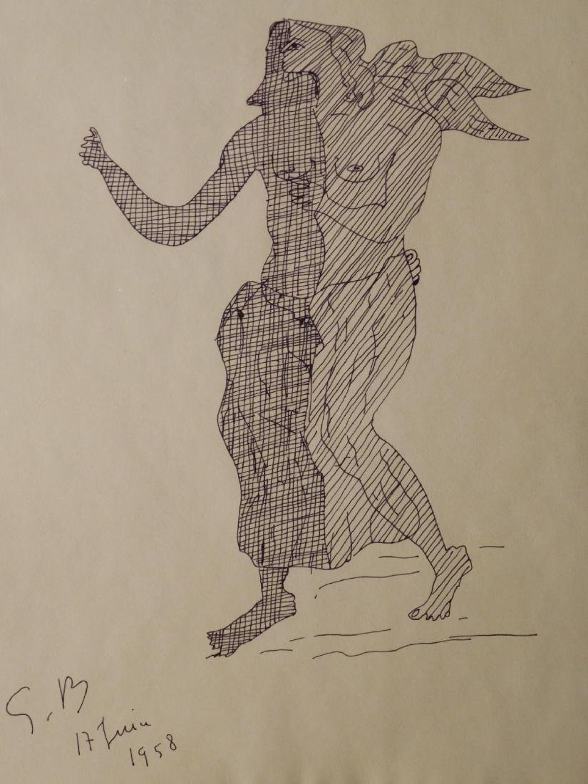 Georges Braque: Angel, 1958