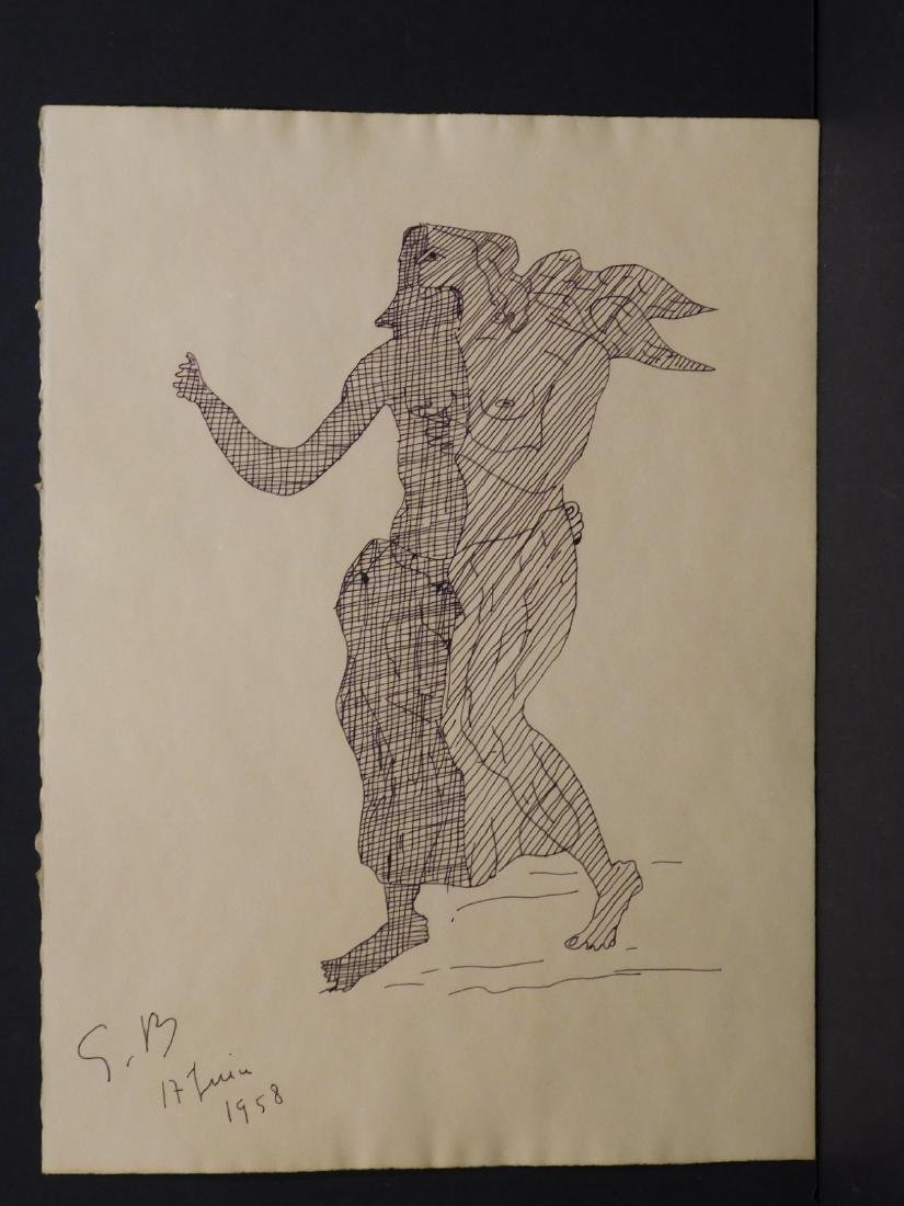 Georges Braque: Angel, 1958 - 2