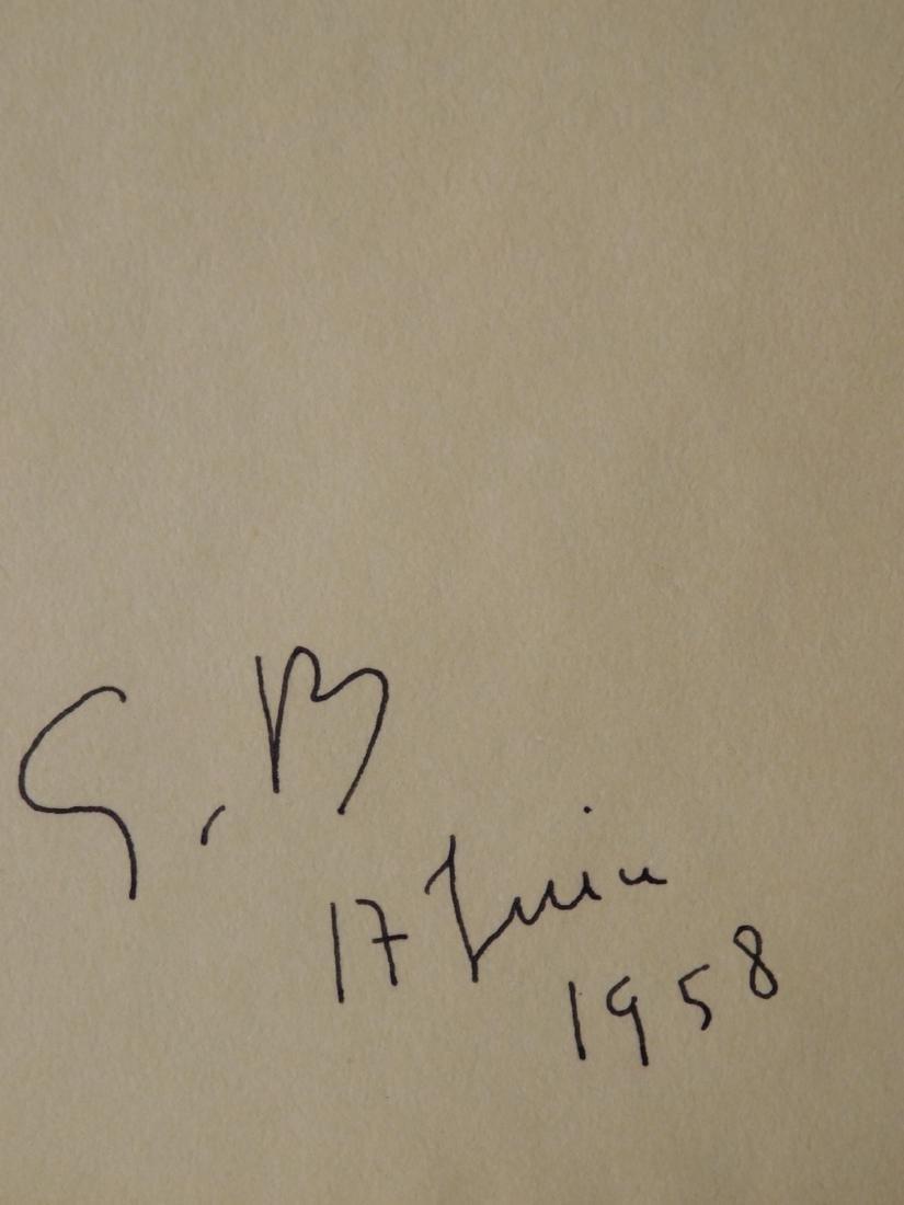 Georges Braque: Angel, 1958 - 3