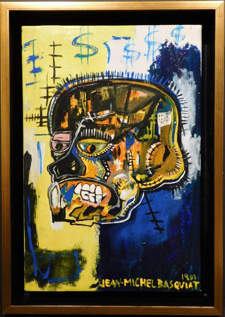 Jean-Michel Basquiat: Skull, 1981