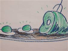 Dr. Seuss: Green Eggs and Ham Illustration