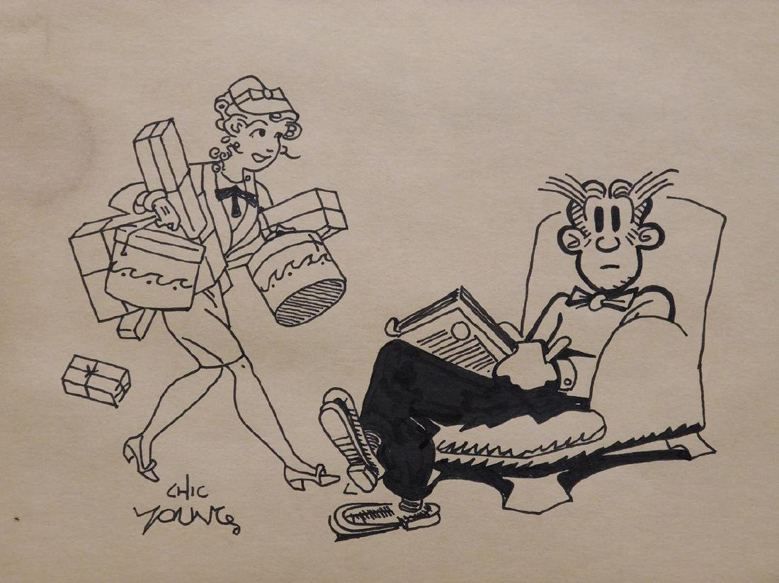 Chic Young: Blondie and Dagwood