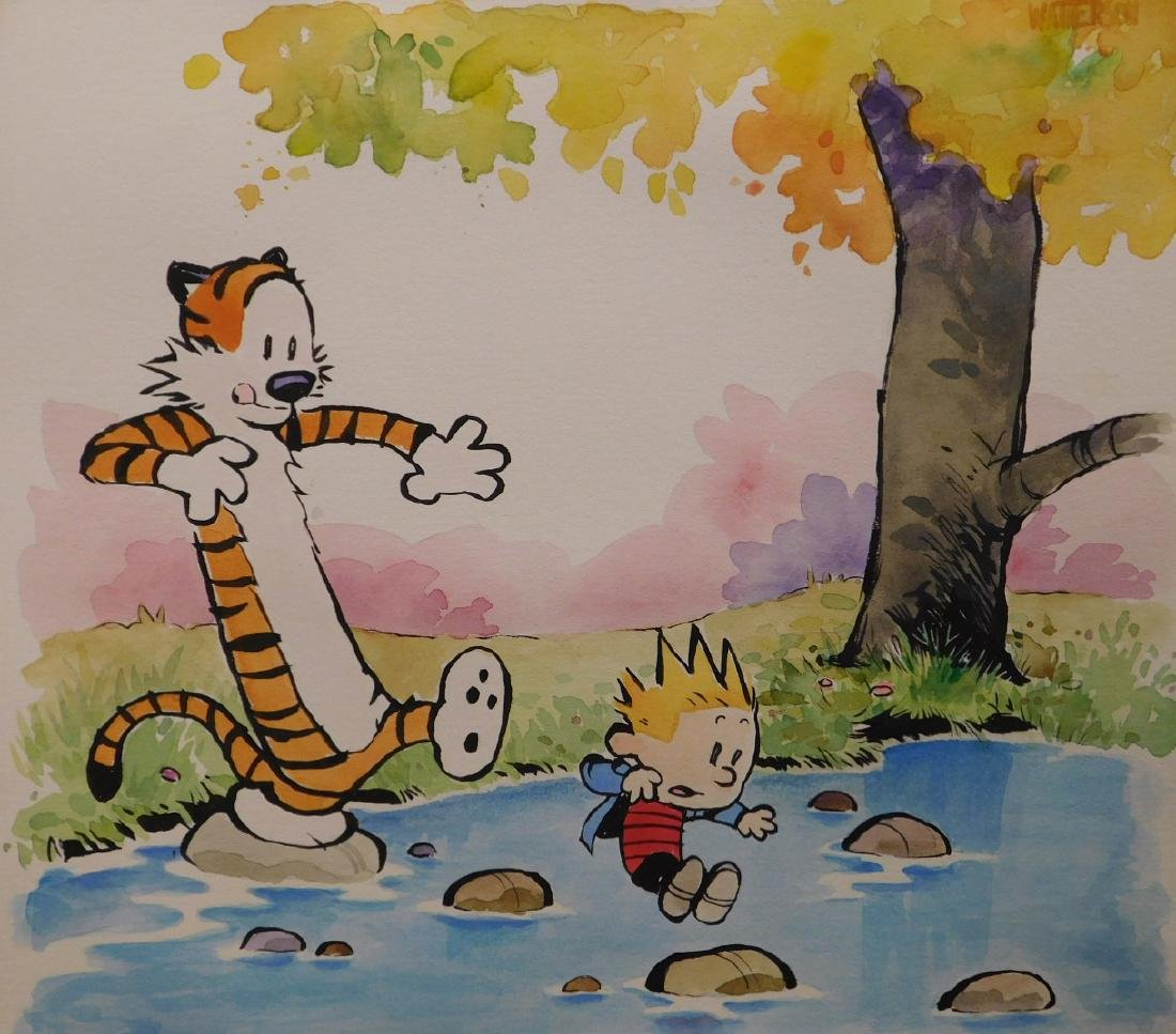 Bill Watterson: Calvin and Hobbes