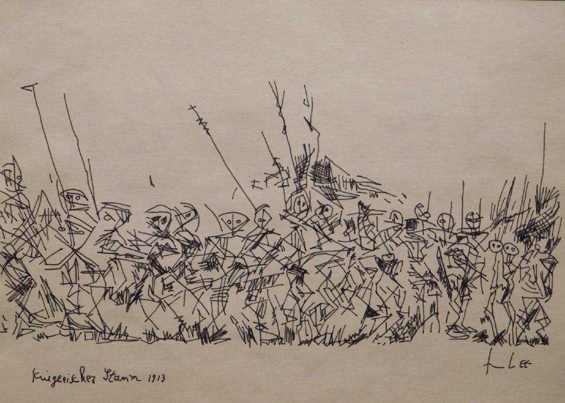 Paul Klee: Warrior Tribe