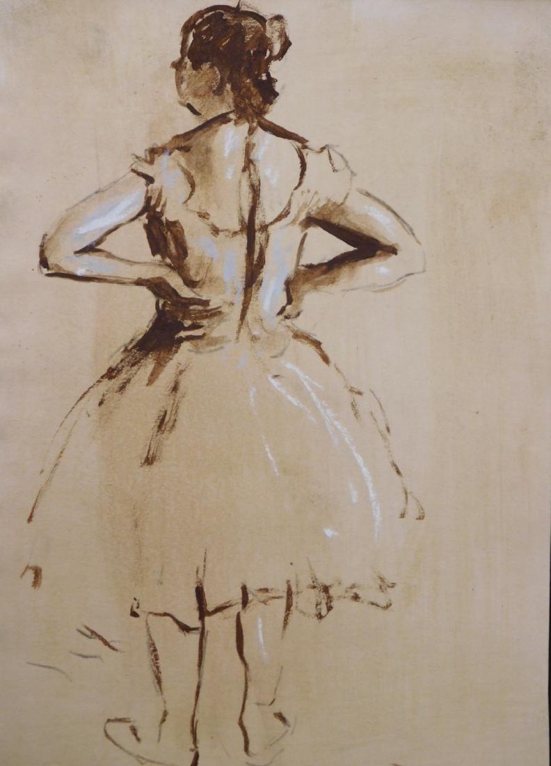 Edgar Degas: Dancer