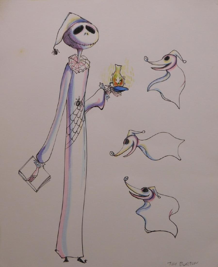 Tim Burton: Ghost of Christmas