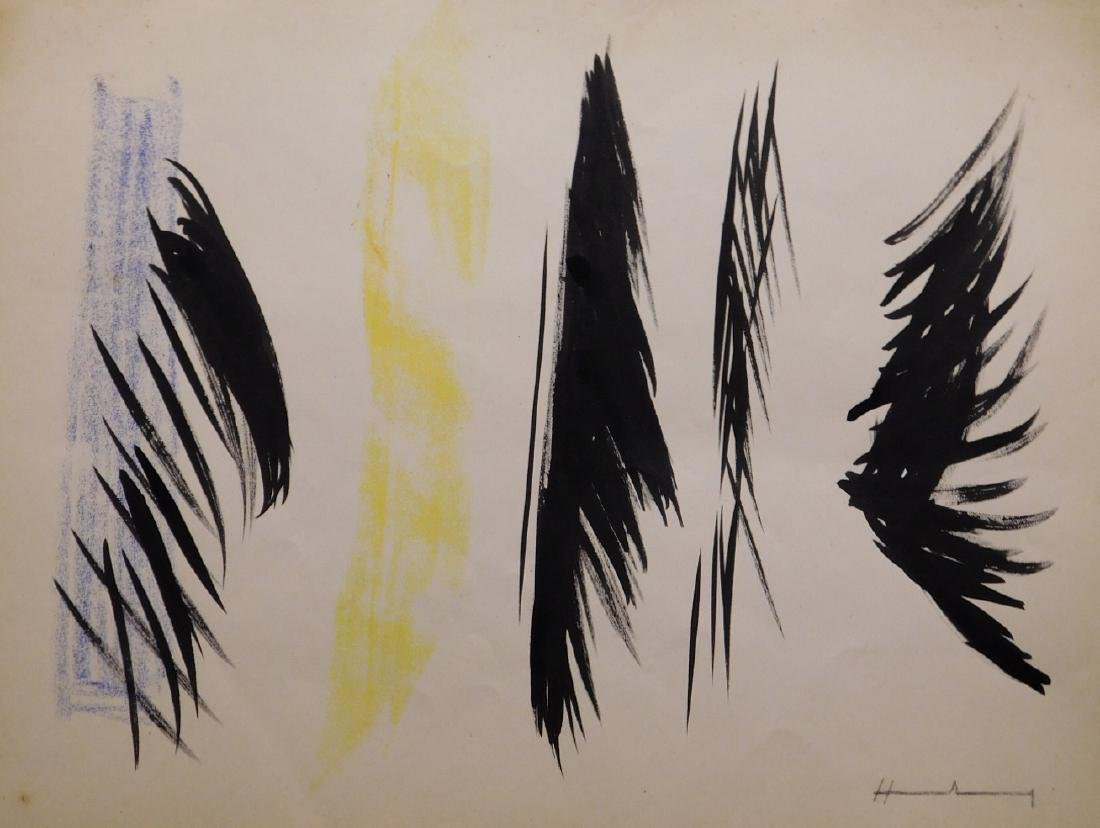 Hans Hartung: Abstract Composition